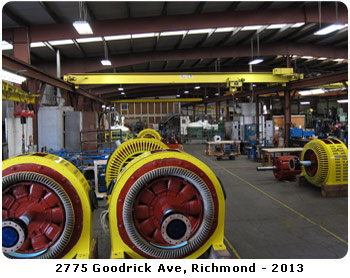 Dahl Beck Electric History Of Electric Motor Repair Facility